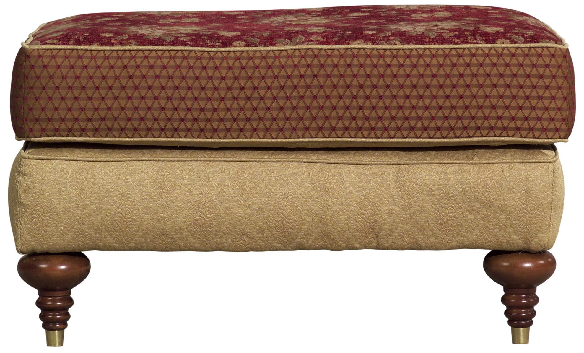 Tuscany Ottoman by Kincaid Furniture at Johnny Janosik