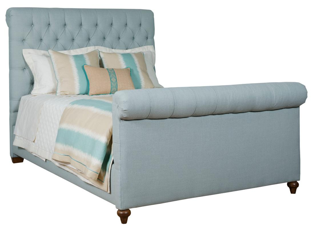 Upholstered Beds King Belmar Upholstered Bed by Kincaid Furniture at Northeast Factory Direct