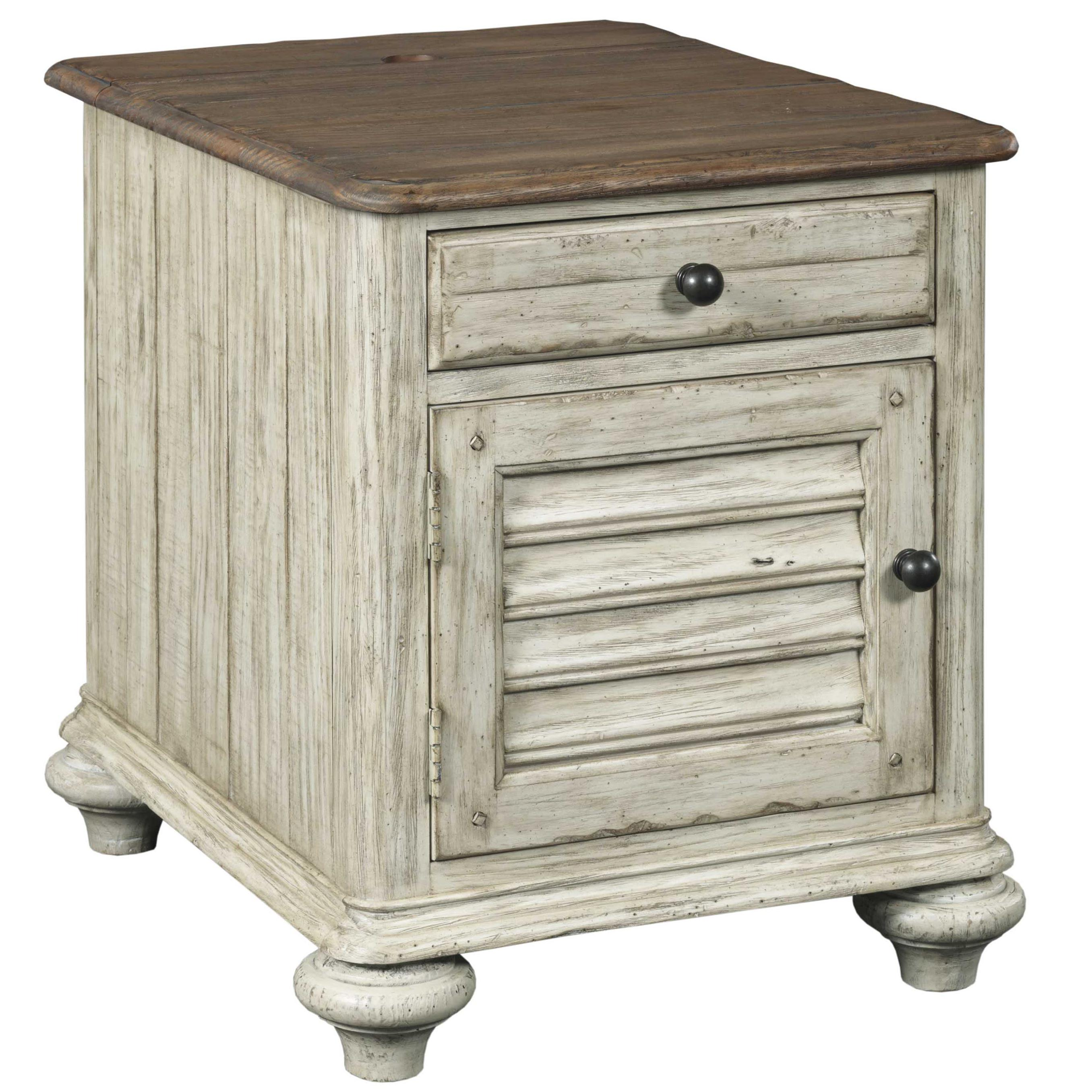 Weatherford Chairside Chest by Kincaid Furniture at Johnny Janosik