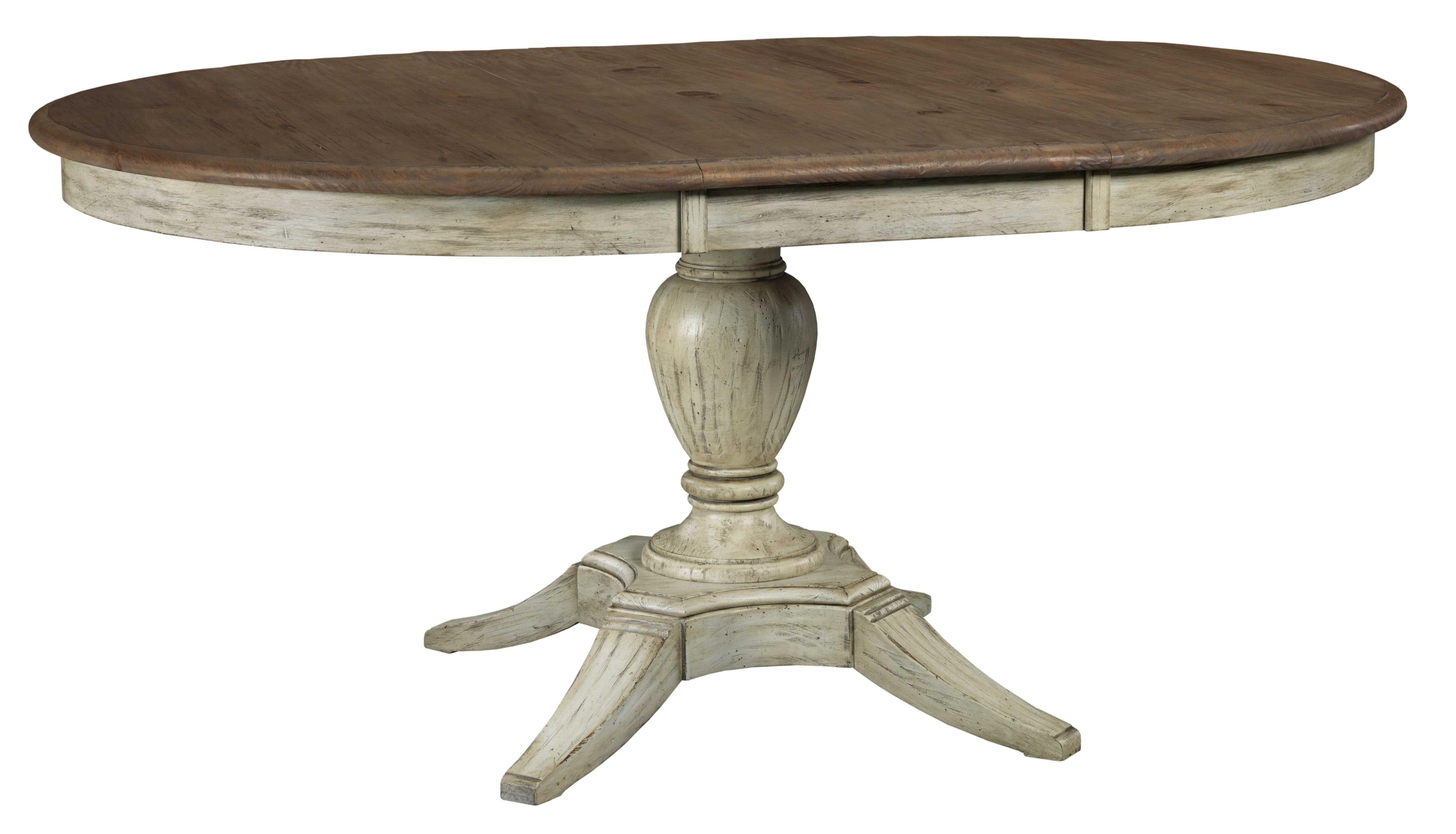 Weatherford Round Dining Table by Kincaid Furniture at Johnny Janosik