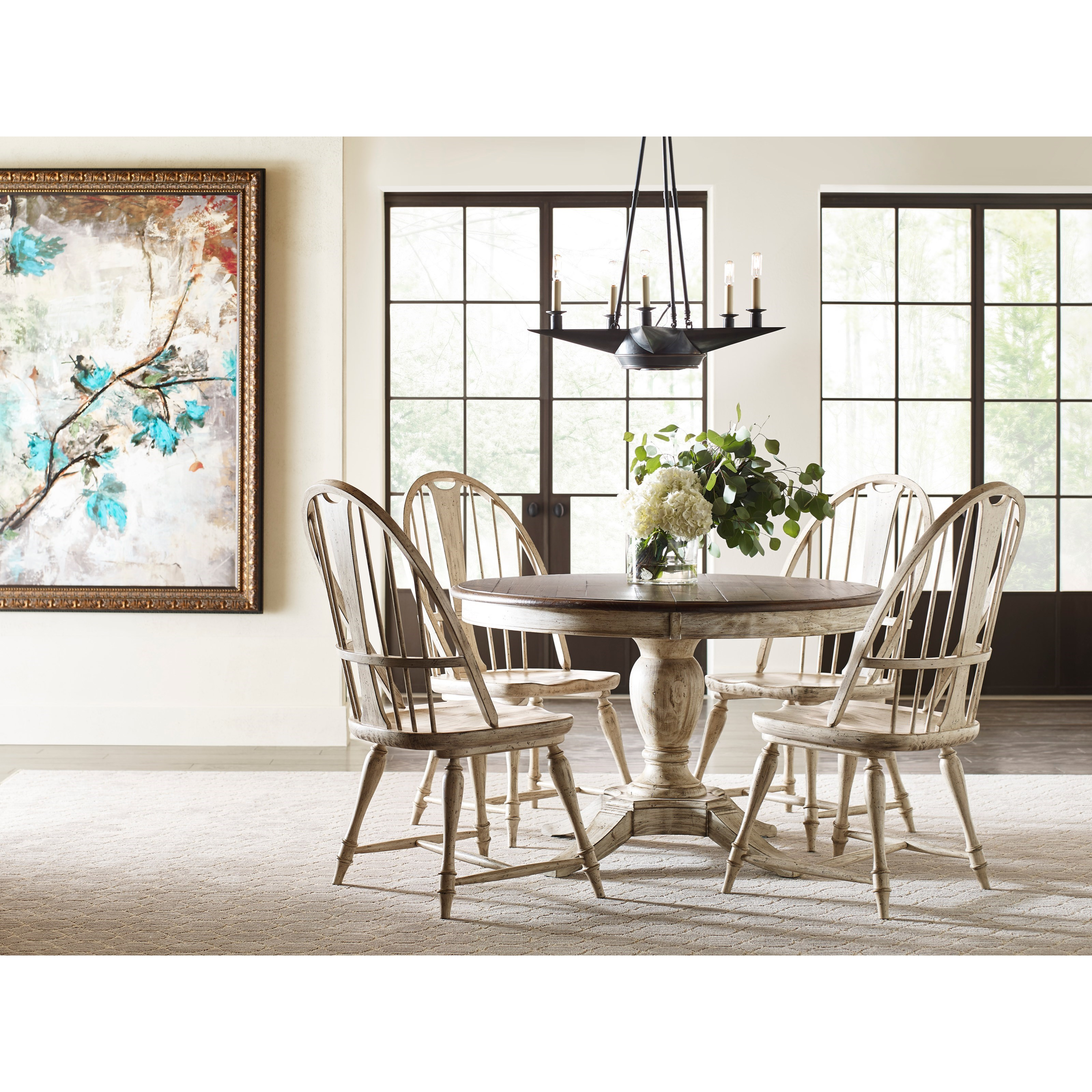 Weatherford 5-Piece Table & Chair Set at Stoney Creek Furniture