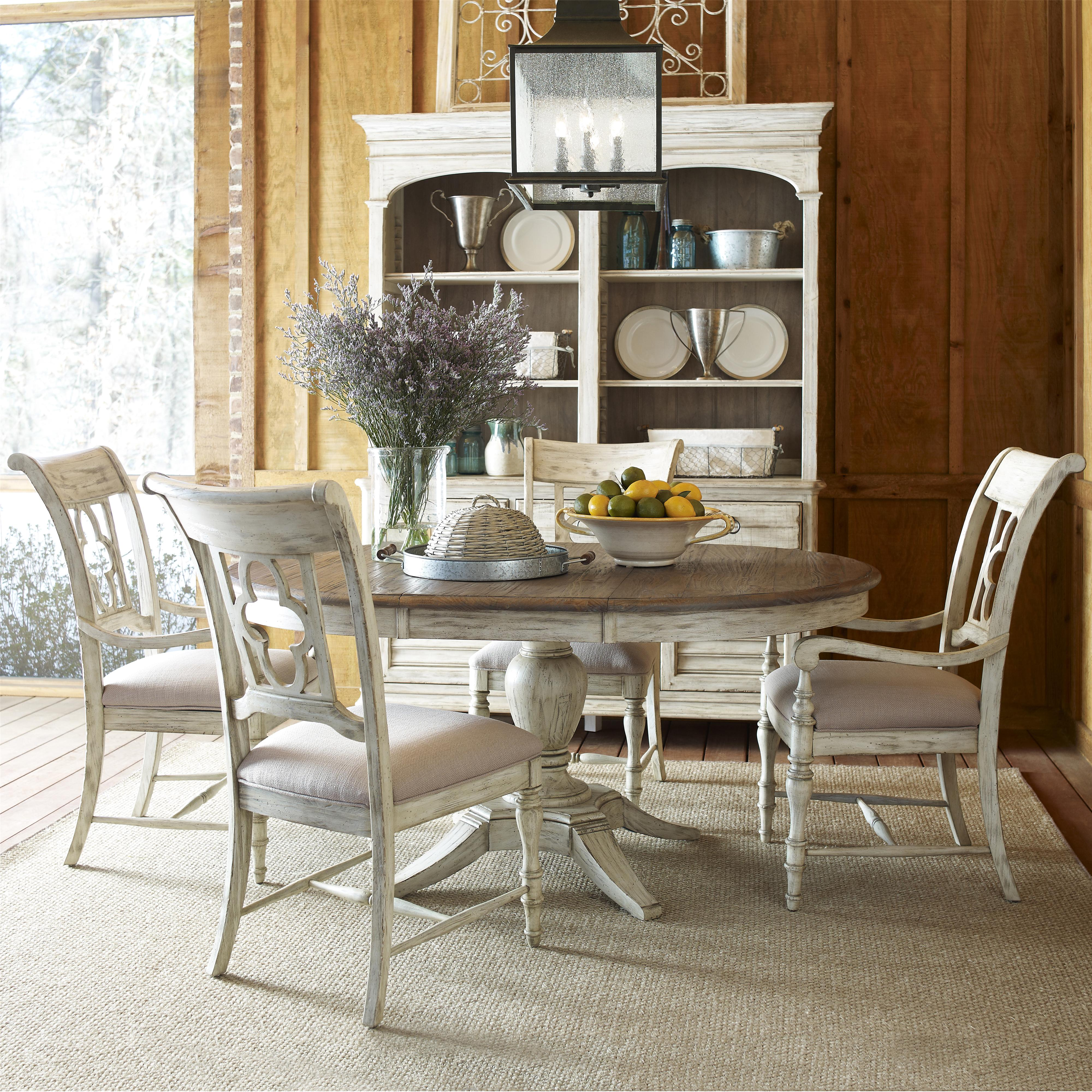 Weatherford 5 Piece Dining Set by Kincaid Furniture at Jacksonville Furniture Mart