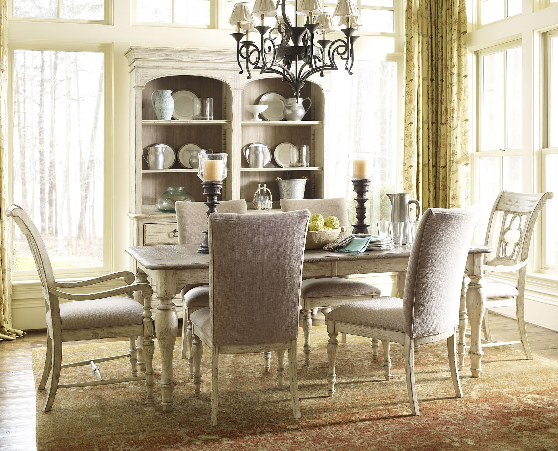 Weatherford 7 Piece Dining Set by Kincaid Furniture at Johnny Janosik