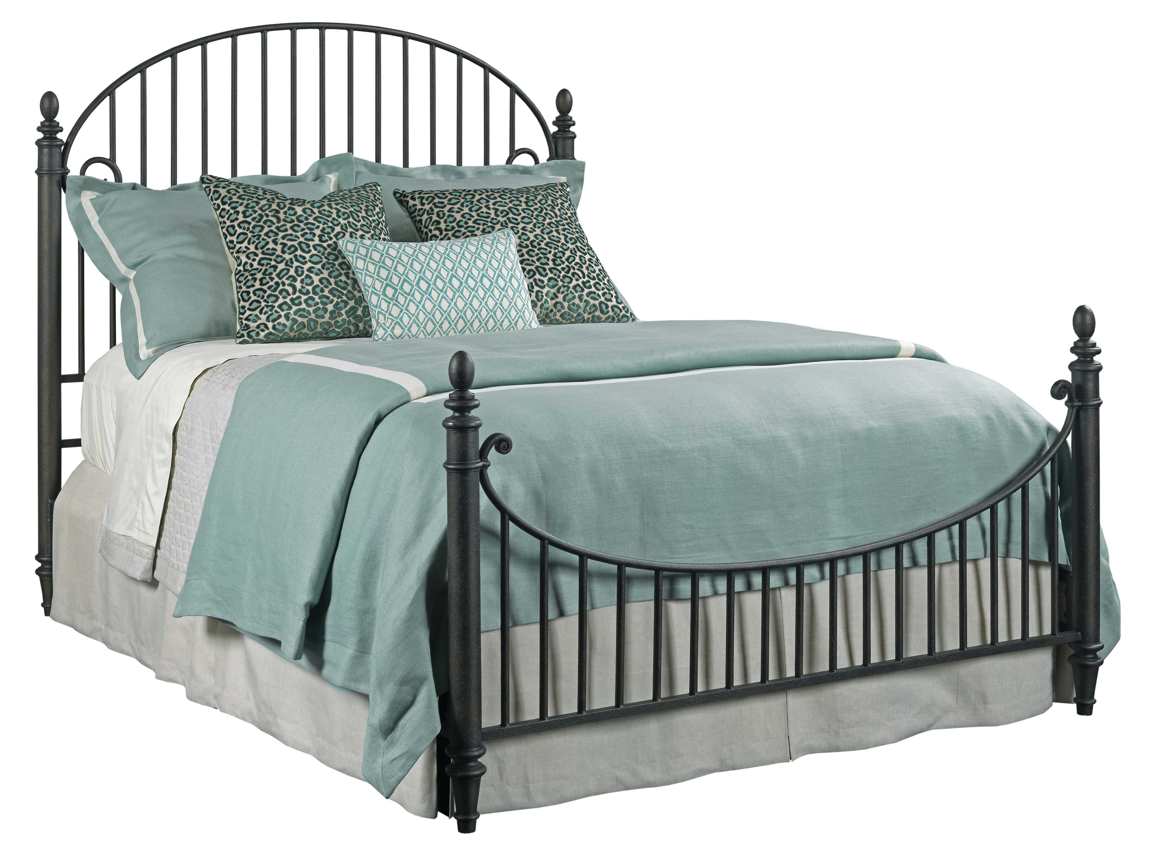 Weatherford Catlins Metal Queen Bed Package by Kincaid Furniture at Goods Furniture