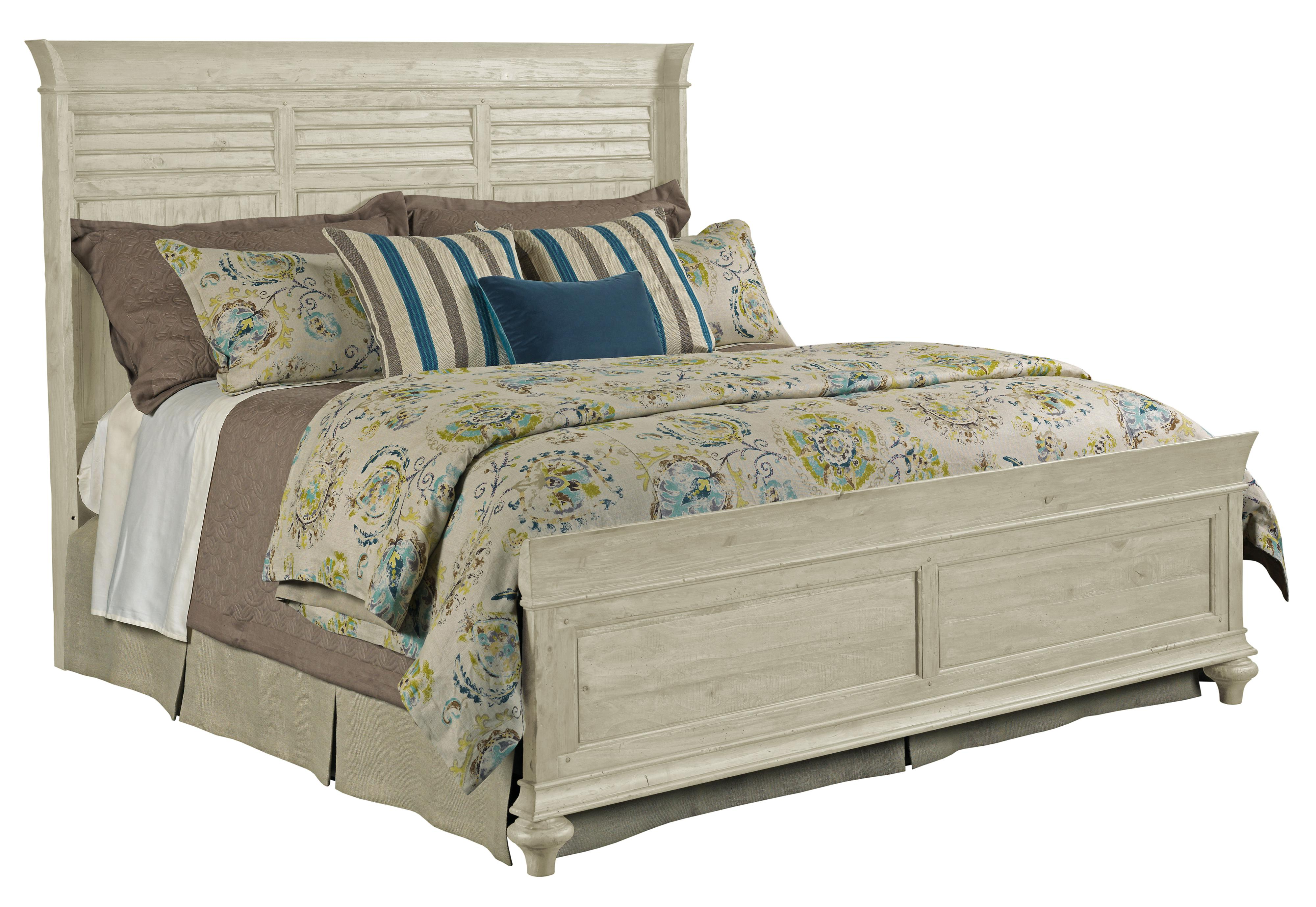 Weatherford Shelter Bed 5/0 Package by Kincaid Furniture at Home Collections Furniture