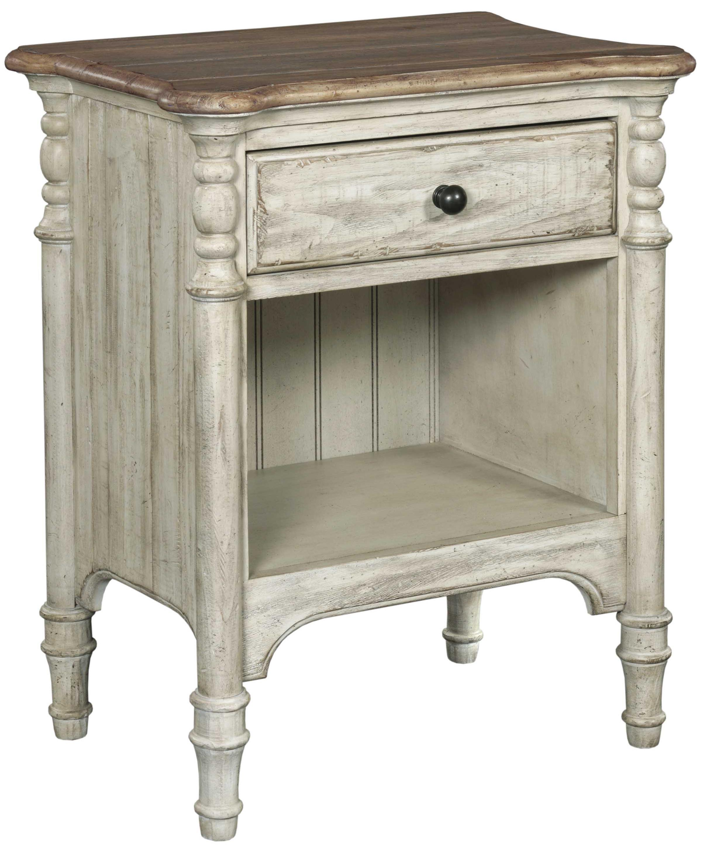 Weatherford Open Nightstand by Kincaid Furniture at Jacksonville Furniture Mart