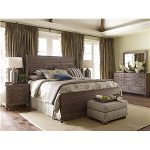 Kincaid Furniture Weatherford California King Bedroom Group