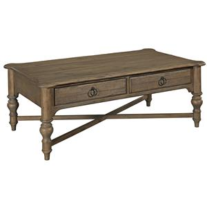 Kincaid Furniture Weatherford Cocktail Table