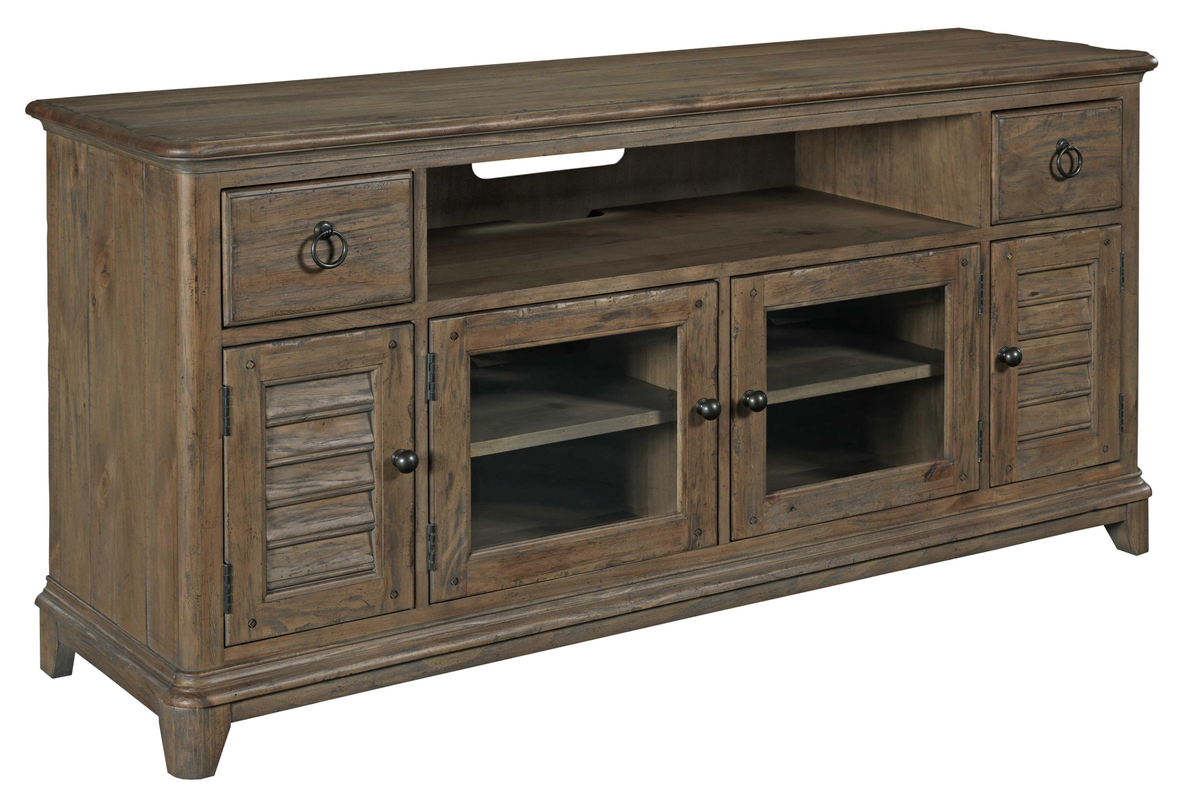"""Weatherford 66"""" Console by Kincaid Furniture at Johnny Janosik"""