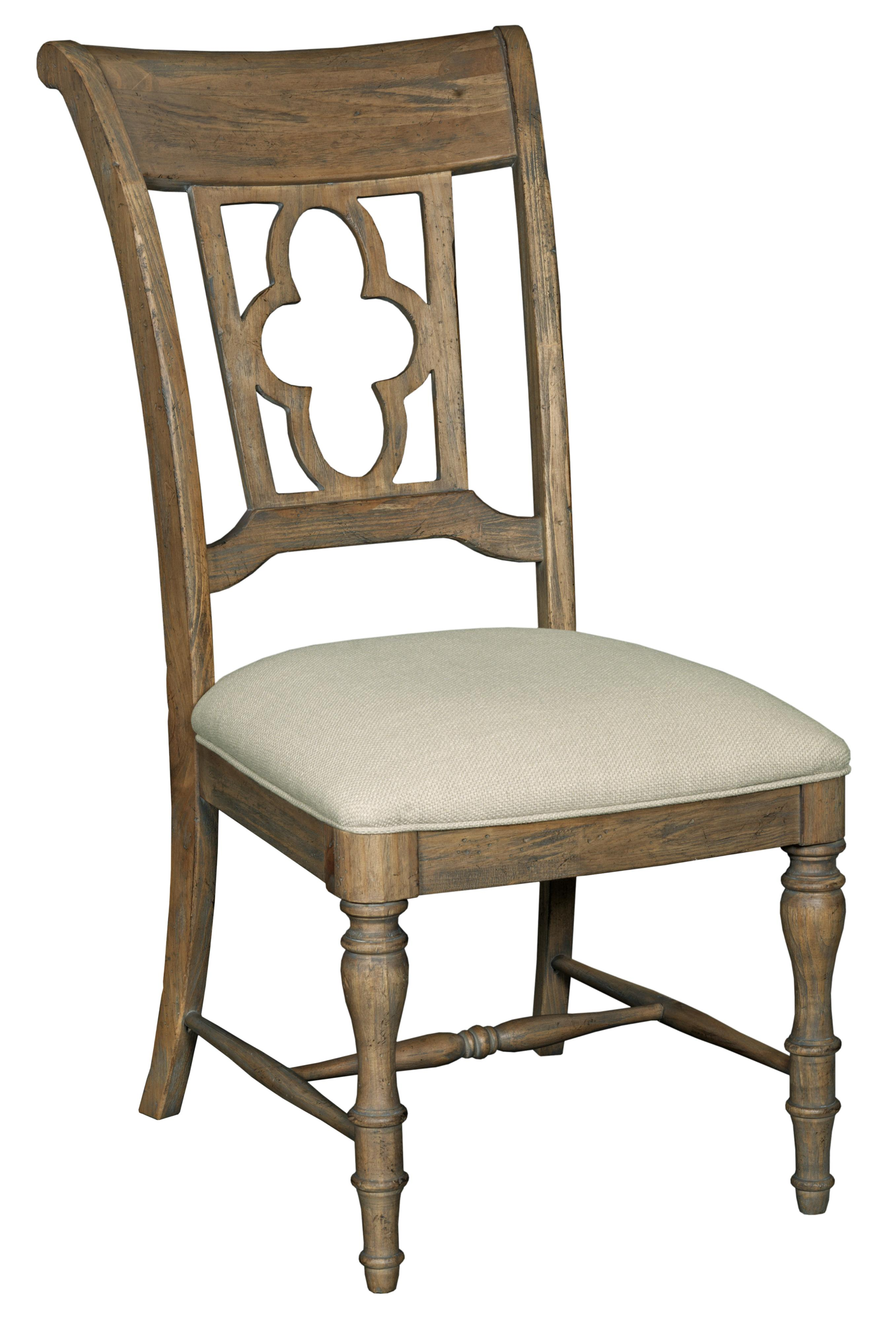 Weatherford  Side Chair by Kincaid Furniture at Johnny Janosik