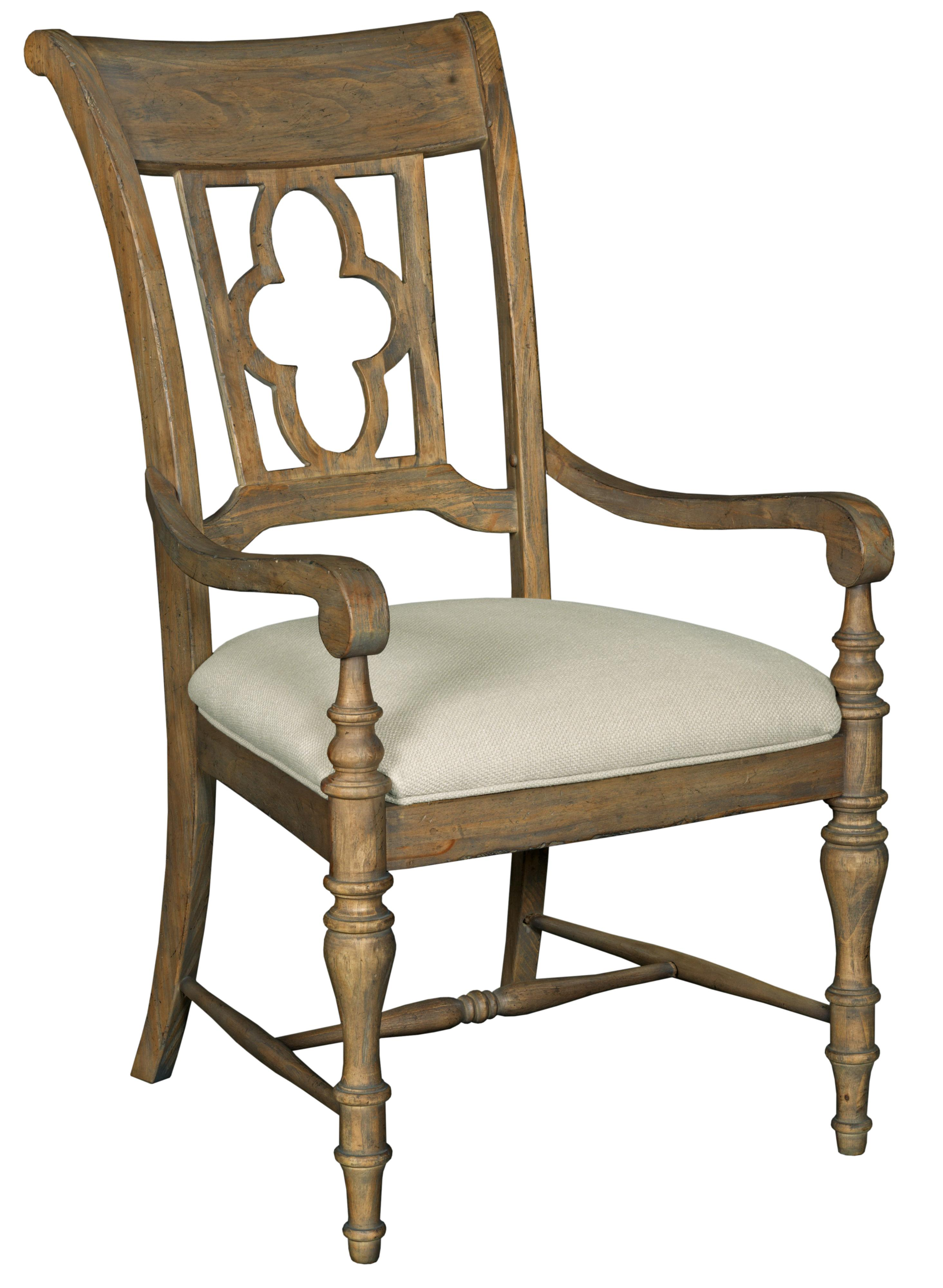 Weatherford Arm Chair by Kincaid Furniture at Belfort Furniture