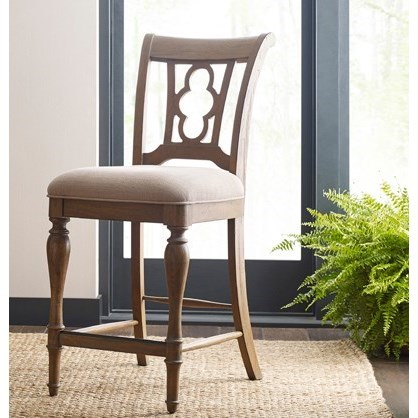 Weatherford Kendal Counter Height Side Chair             by Kincaid Furniture at Johnny Janosik