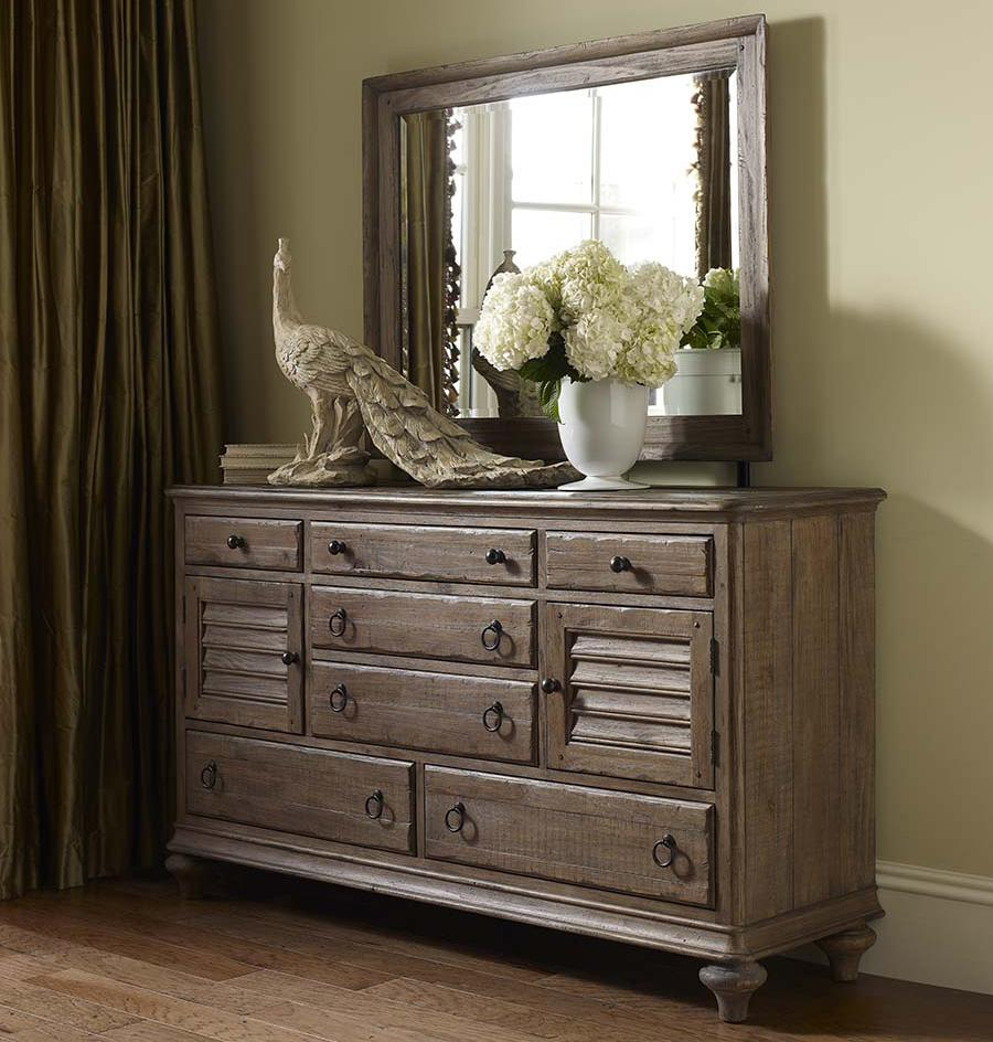 Weatherford Dresser and Mirror Combo by Kincaid Furniture at Northeast Factory Direct