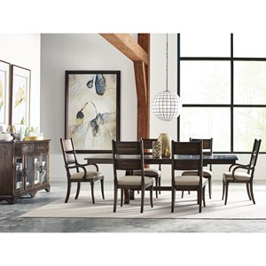 Eight Piece Formal Dining Room Group