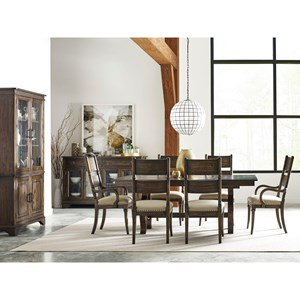 Nine Piece Formal Dining Room Group
