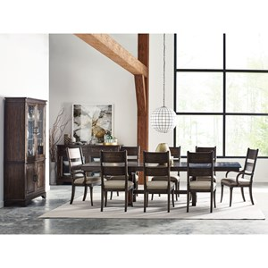 Eleven Piece Formal Dining Room Group