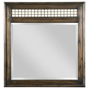 Northgate Mirror with Metal Detailing
