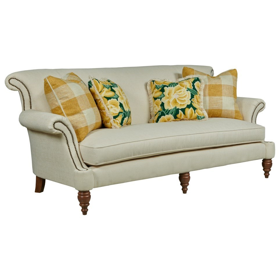 Windsor Sofa w/ Bench Seat by Kincaid Furniture at Johnny Janosik