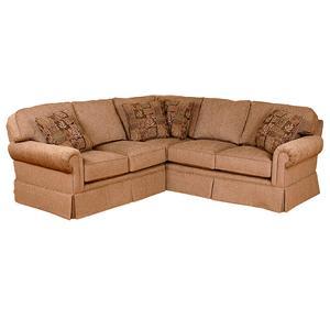 Skirted Corner Sectional Sofa