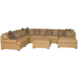 Transitional U Shaped Sectional Sofa