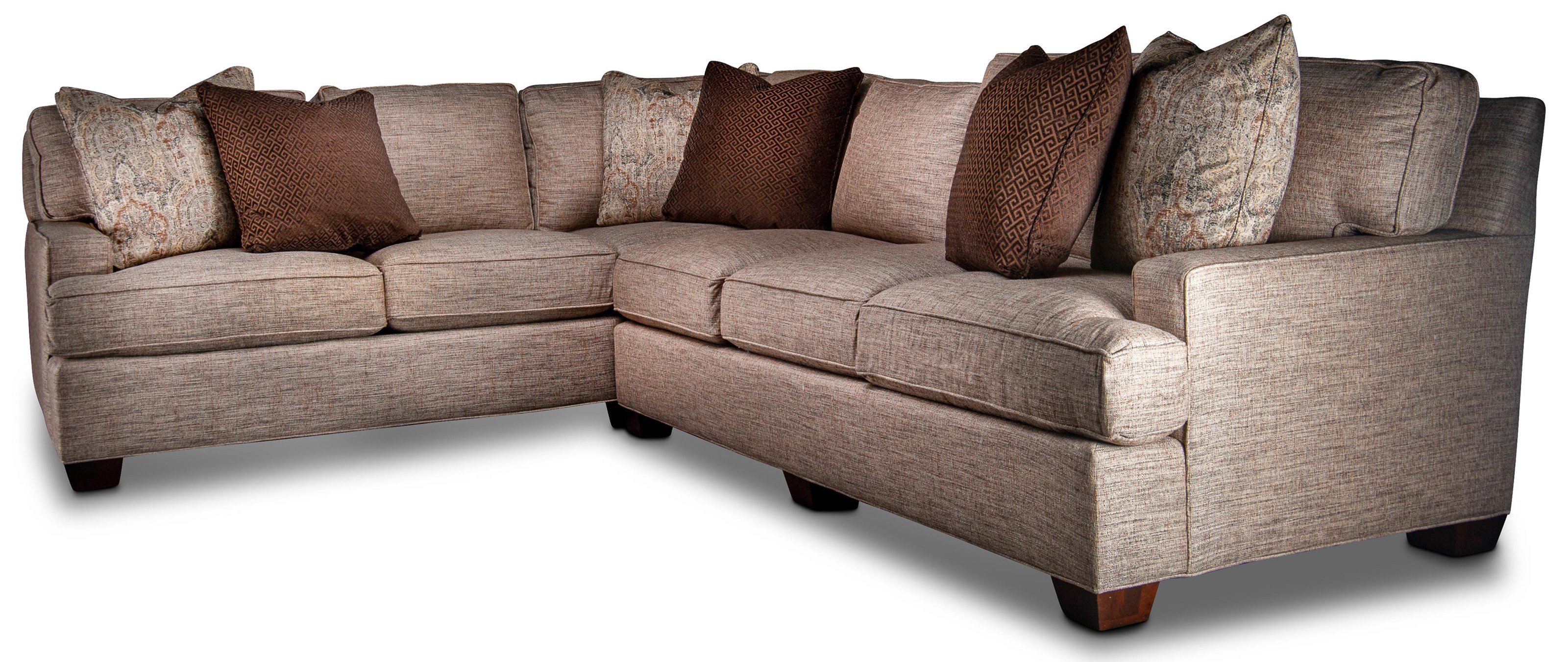 Halsey Halsey Sectional Sofa by King Hickory at Morris Home