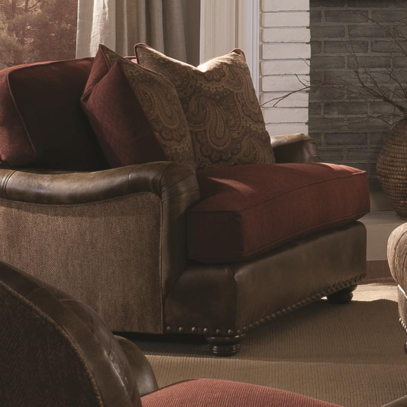 Henson Chair & 1/2 by King Hickory at Saugerties Furniture Mart