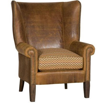 Accent Chairs and Ottomans Sedgefield Chair by King Hickory at Godby Home Furnishings