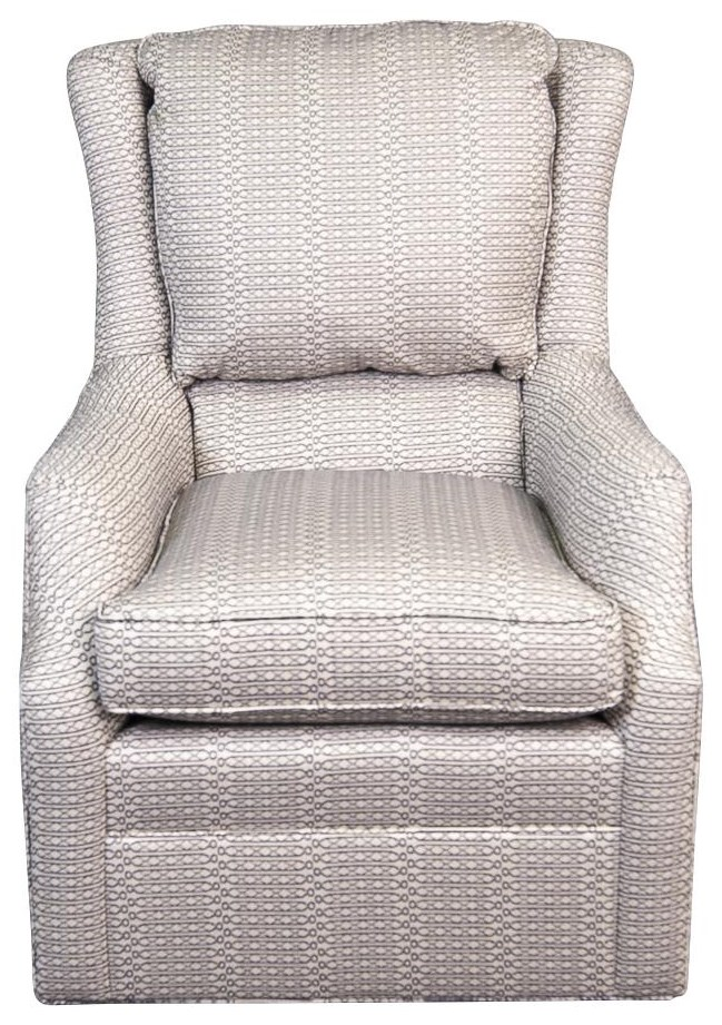 Larita Larita Swivel Chair by King Hickory at Morris Home