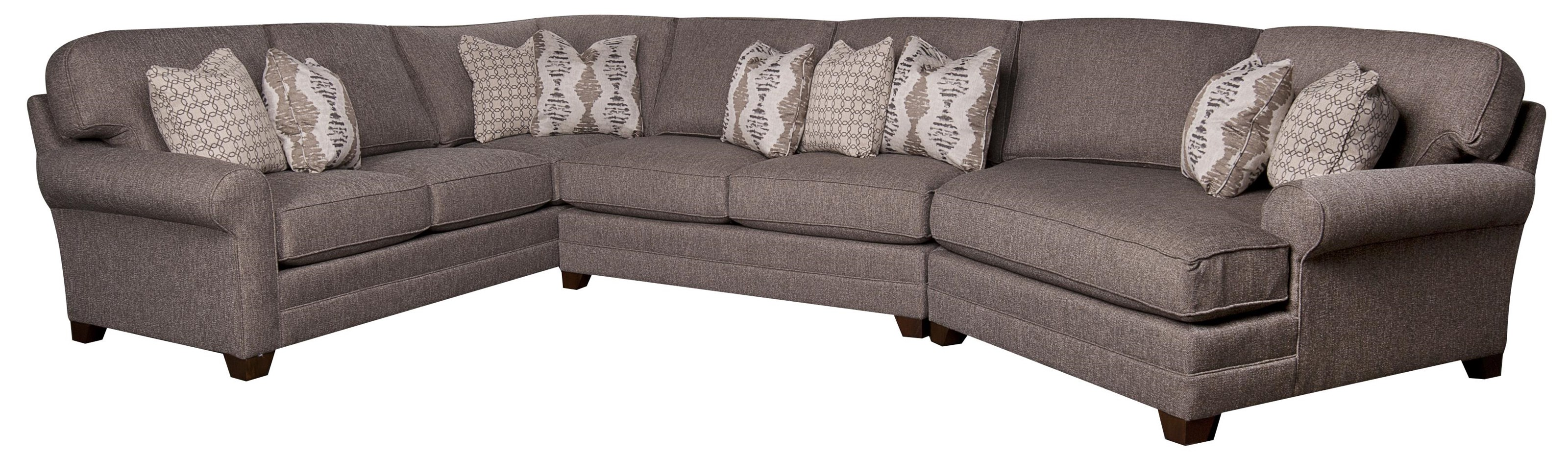 Mcgraw Mcgraw Sectional Sofa by King Hickory at Morris Home