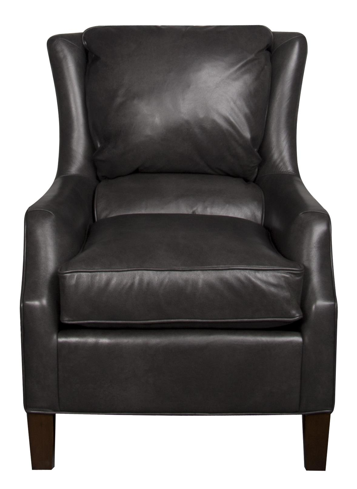 Sherry Sherry Leather Chair by King Hickory at Morris Home