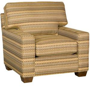 King Hickory Winston Transitional Chair
