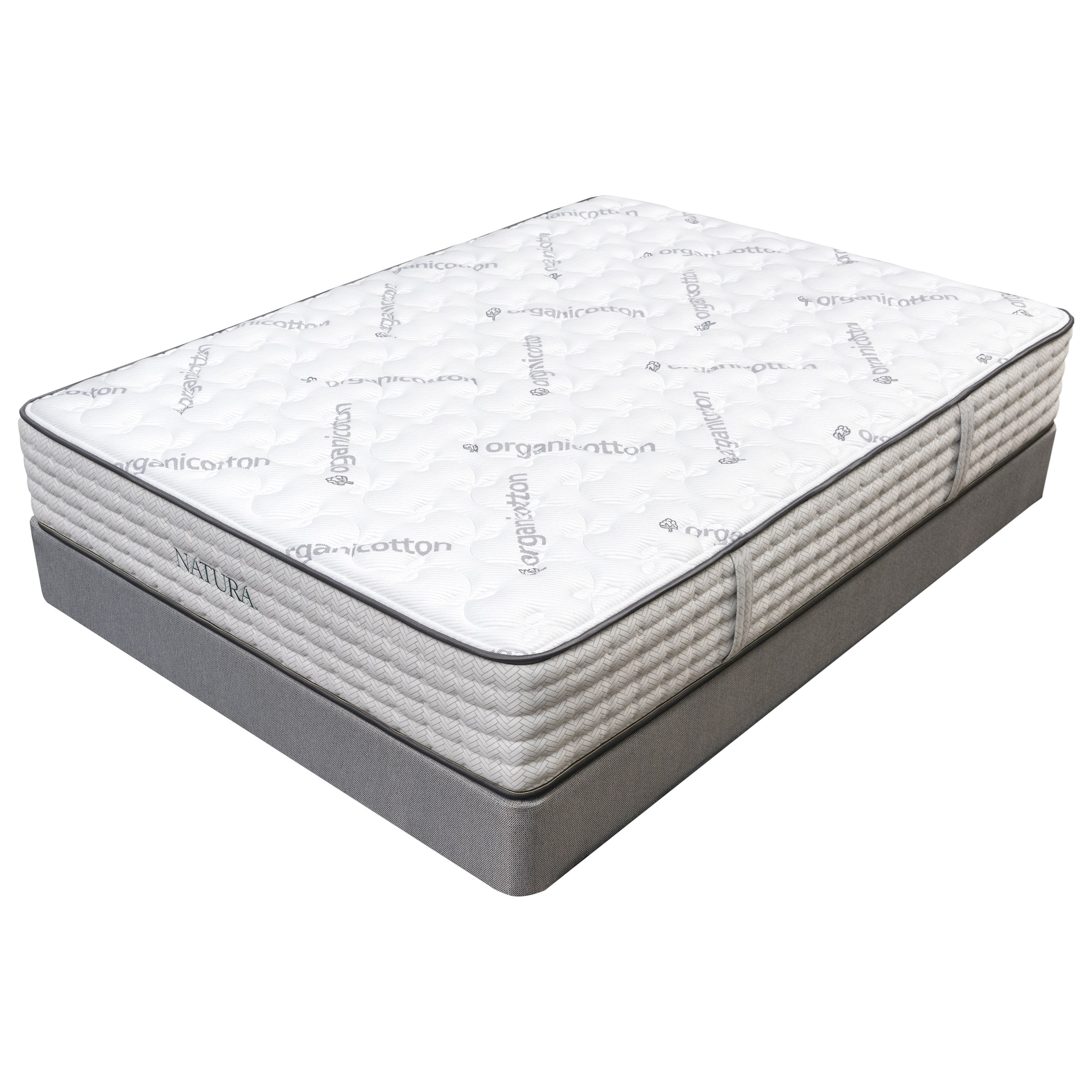 "Acacia Firm Twin 12"" Firm Mattress LP Set  by Natura World at Pilgrim Furniture City"