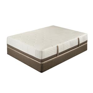 King Koil Extended Life 3100 Full Luxury Firm Mattress Set