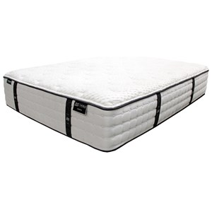 Full Plush Pocketed Coil Mattress and Caliber Adjustable Base