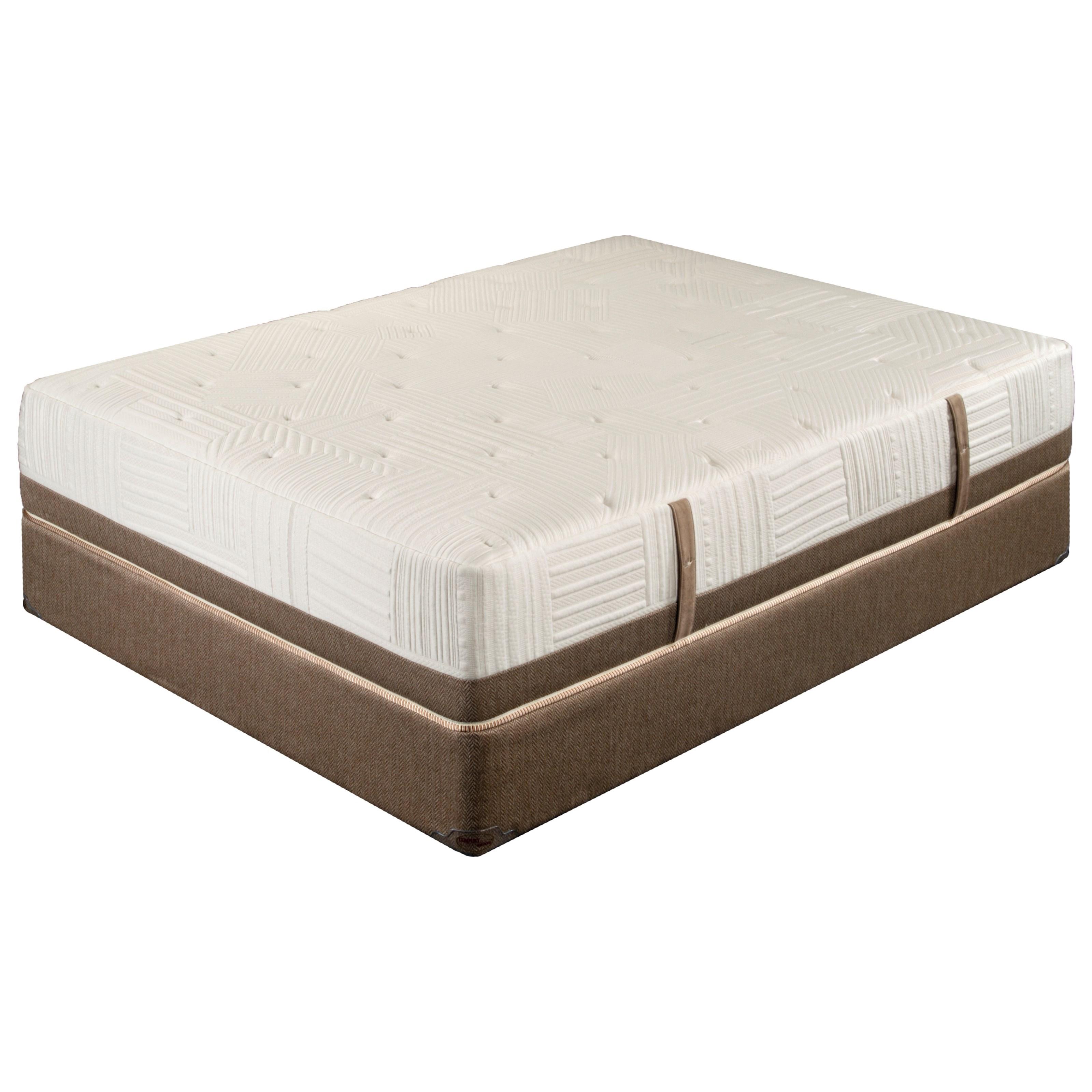 KKXL 3200 Queen Extended Life Cushion Firm Mattress by King Koil at Nassau Furniture and Mattress