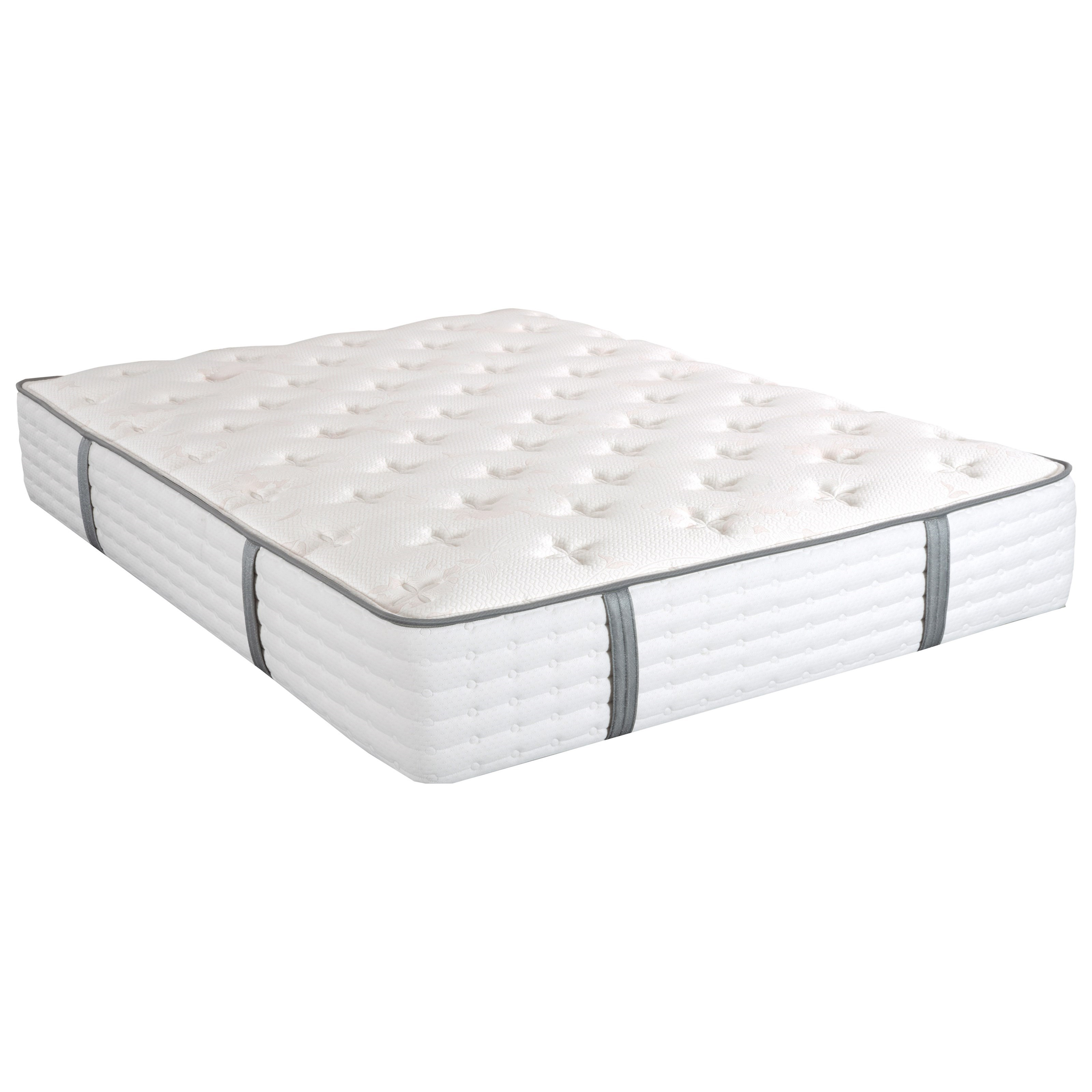 Laura Ashley Amelie Extra Firm Queen Extra Firm Pocketed Coil Mattress by King Koil at Nassau Furniture and Mattress