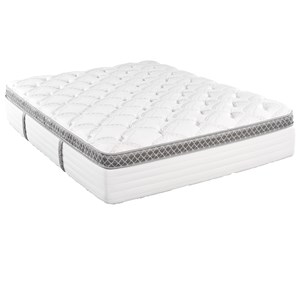 Queen Pillow Top Pocketed Coil Mattress