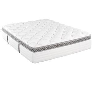 California King Pillow Top Pocketed Coil Mattress