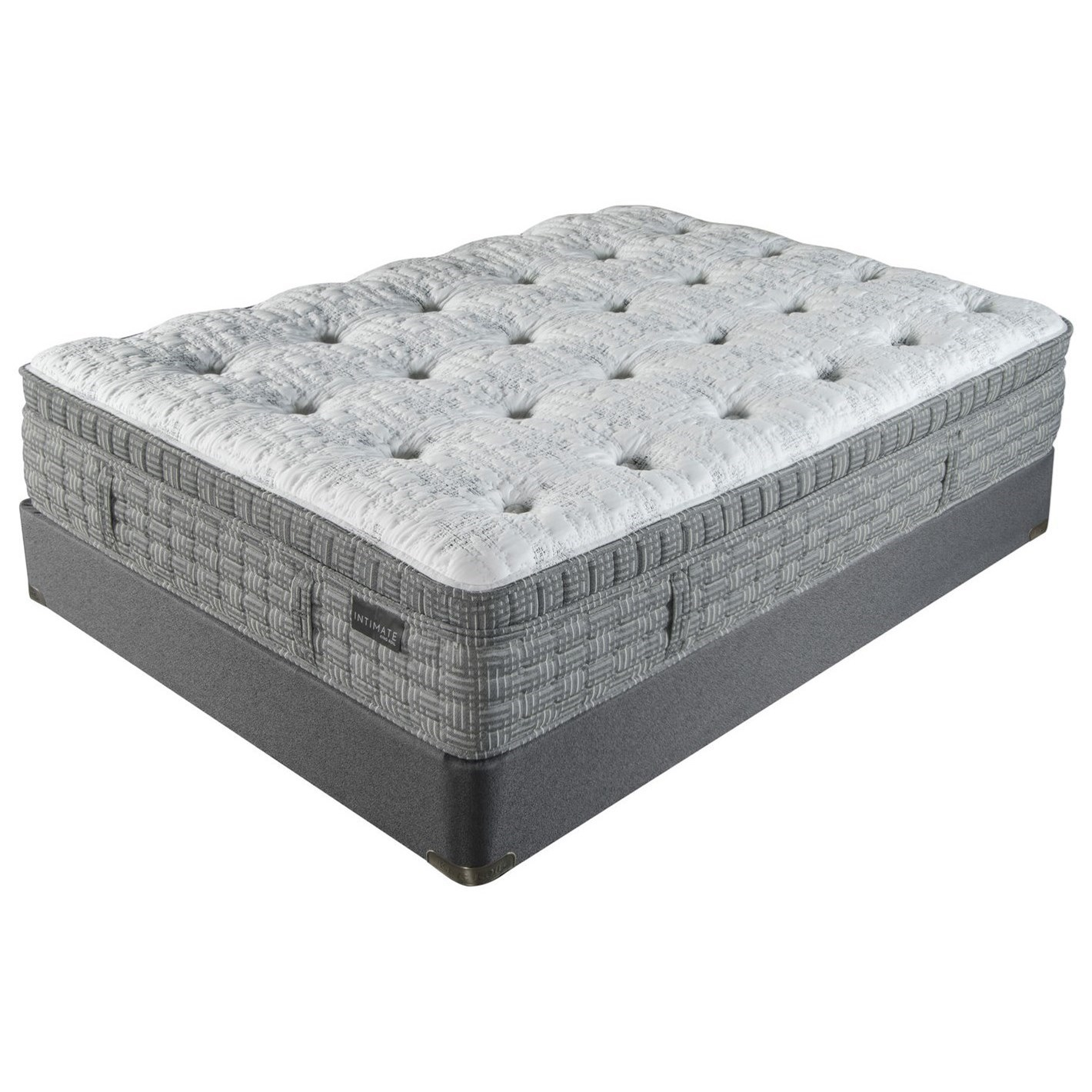 "Palisades Med Lux Top Twin XL 15"" Medium Luxury Top Mattress Set by King Koil at Pilgrim Furniture City"