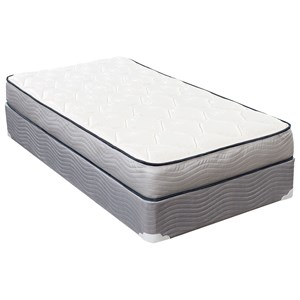 "Twin 6"" Foam Mattress and Wood Foundation"