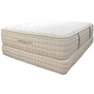 Queen Luxury Firm Mattress and Foundation
