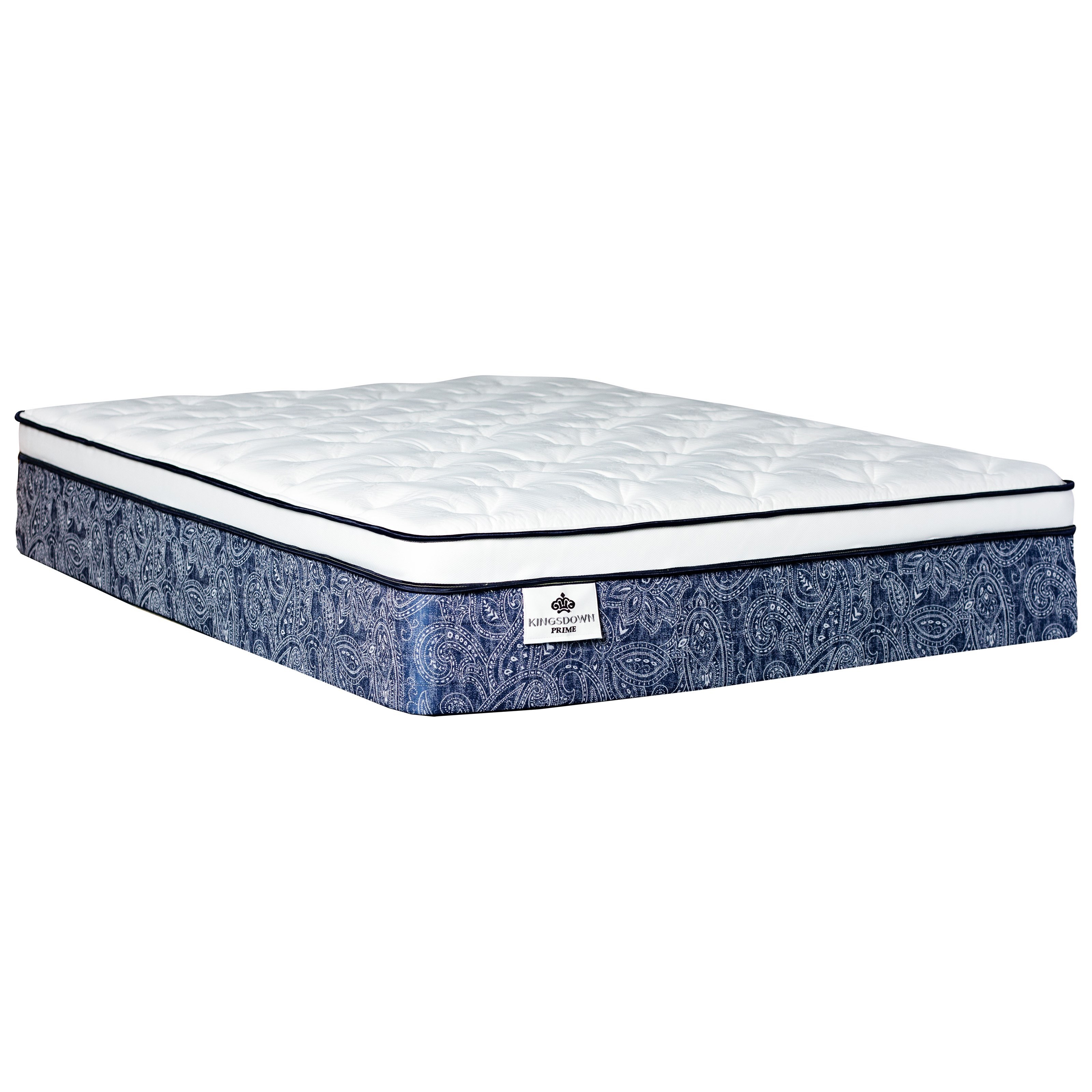 "Belcourt ET Twin XL 13 1/2"" Pocketed Coil Mattress by Kingsdown at Baer's Furniture"