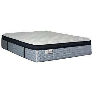 Queen Euro Top Pocketed Coil Mattress and Caliber Adjustable Base
