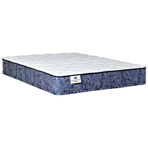 "King 12"" Firm Tight Top Pocketed Coil Mattress"