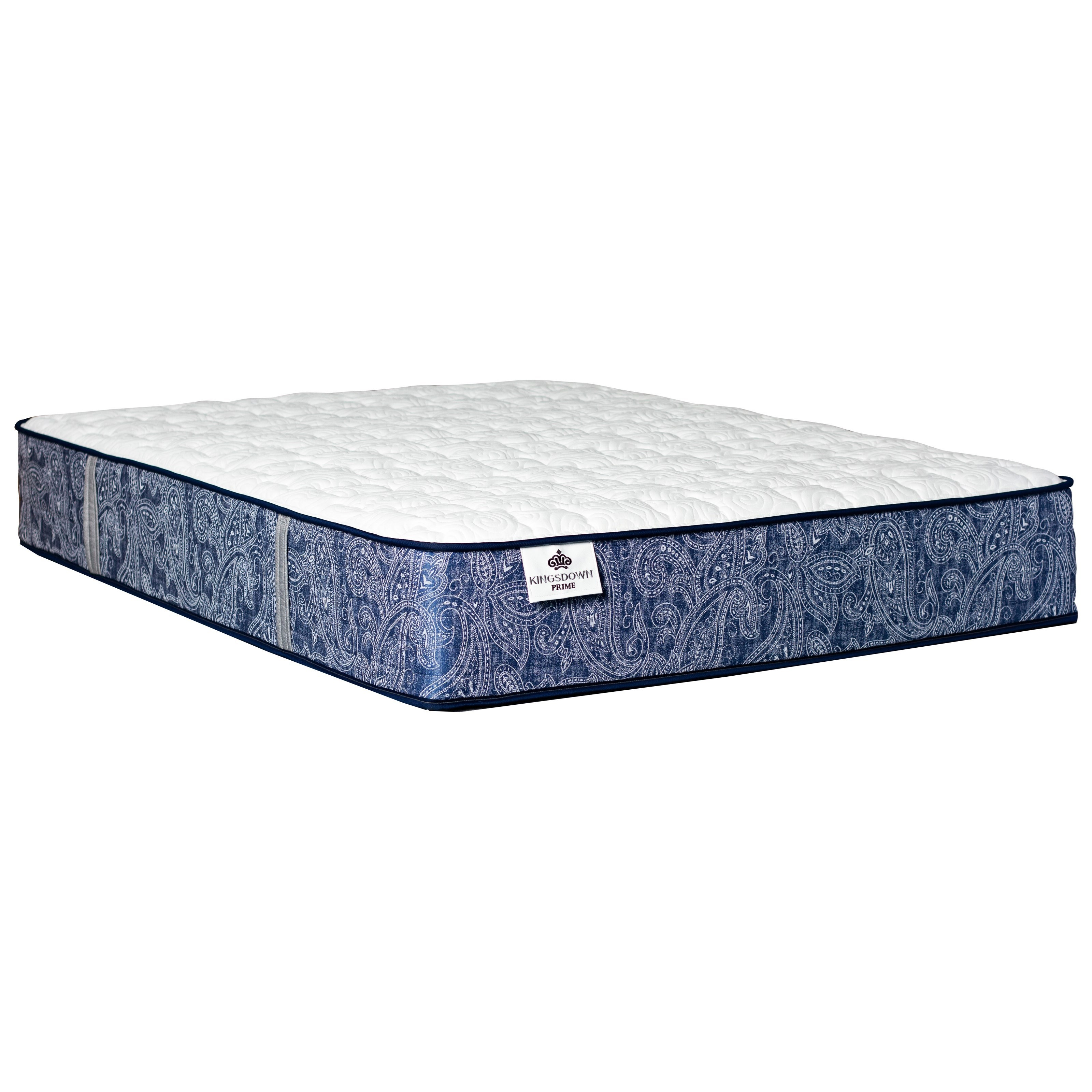 "Merrivale Firm Full 13"" Firm Coil on Coil Mattress by Kingsdown at Baer's Furniture"