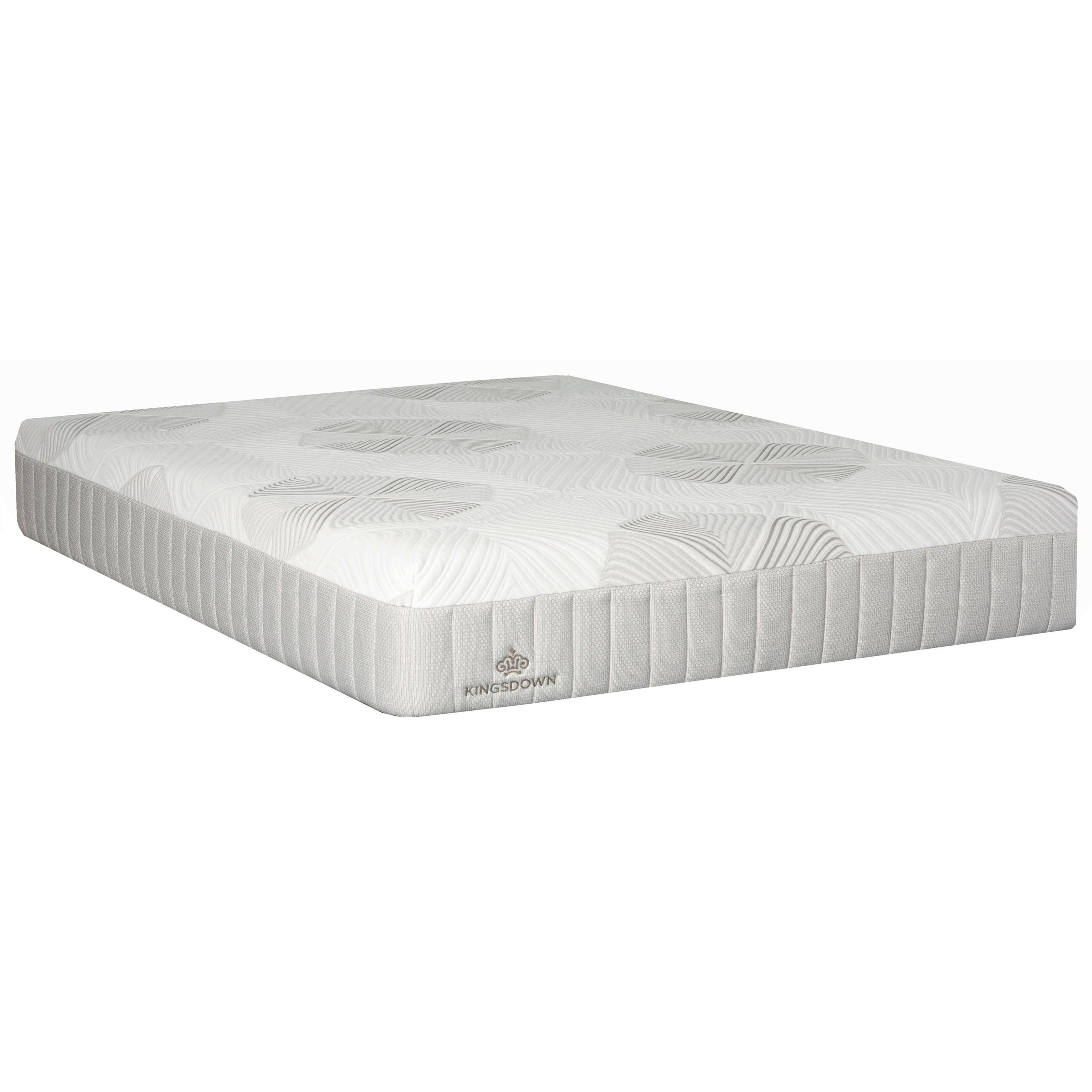"""Miro Whisper Trace Twin XL 12"""" Gel Memory Foam Mattress by Kingsdown at Story & Lee Furniture"""