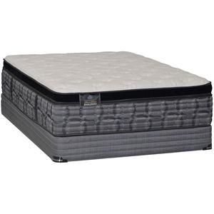 Kingsdown Engleman Cloud Cal King Pillow Top Mattress Set