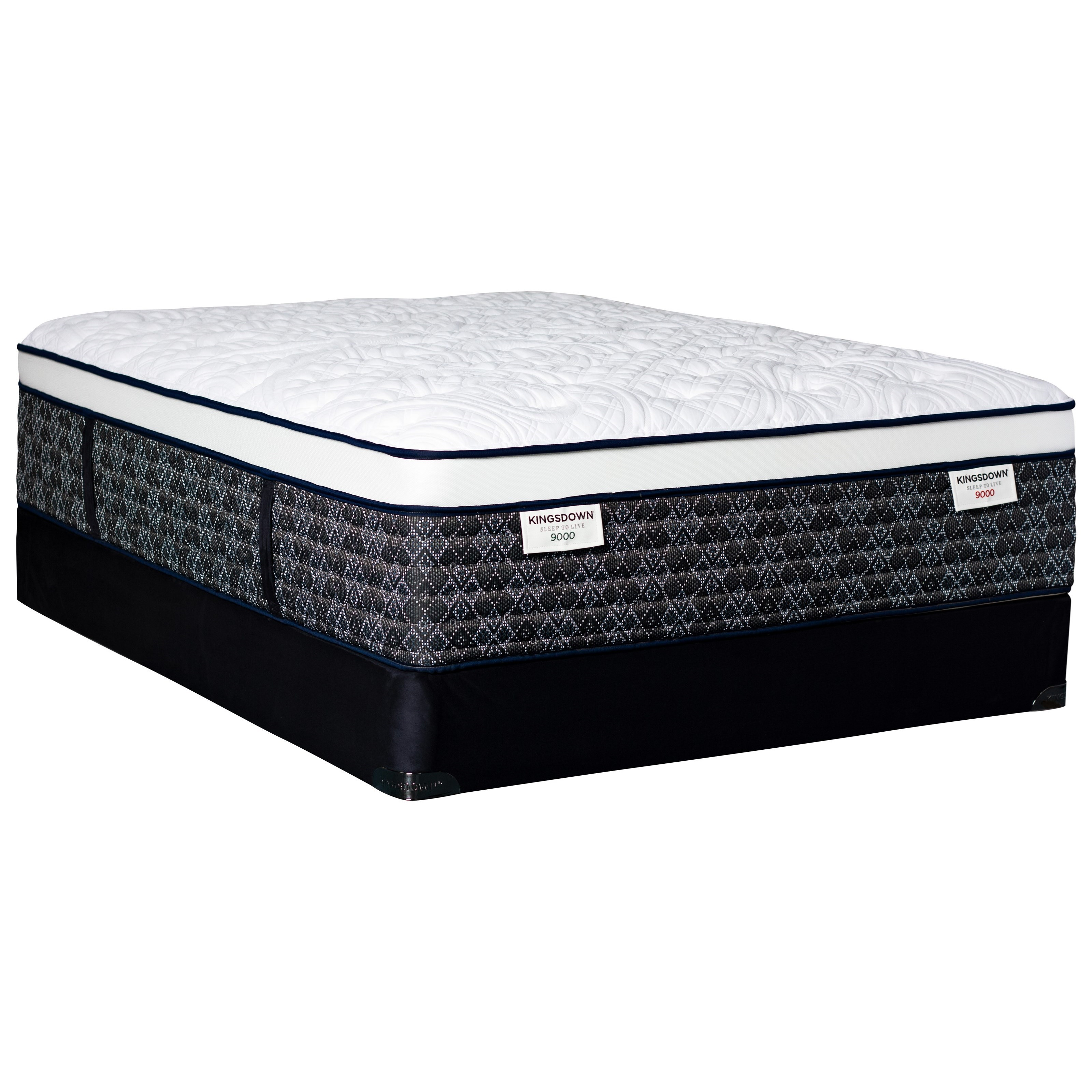 Sleep to Live 9000 Green Red ET King Pocketed Coil Mattress Set by Kingsdown at Story & Lee Furniture