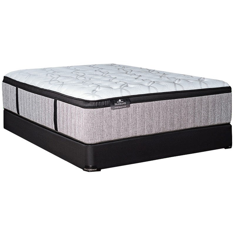 Torrey Pines Firm Queen Firm Deluxe Mattress Set by Kingsdown at Story & Lee Furniture