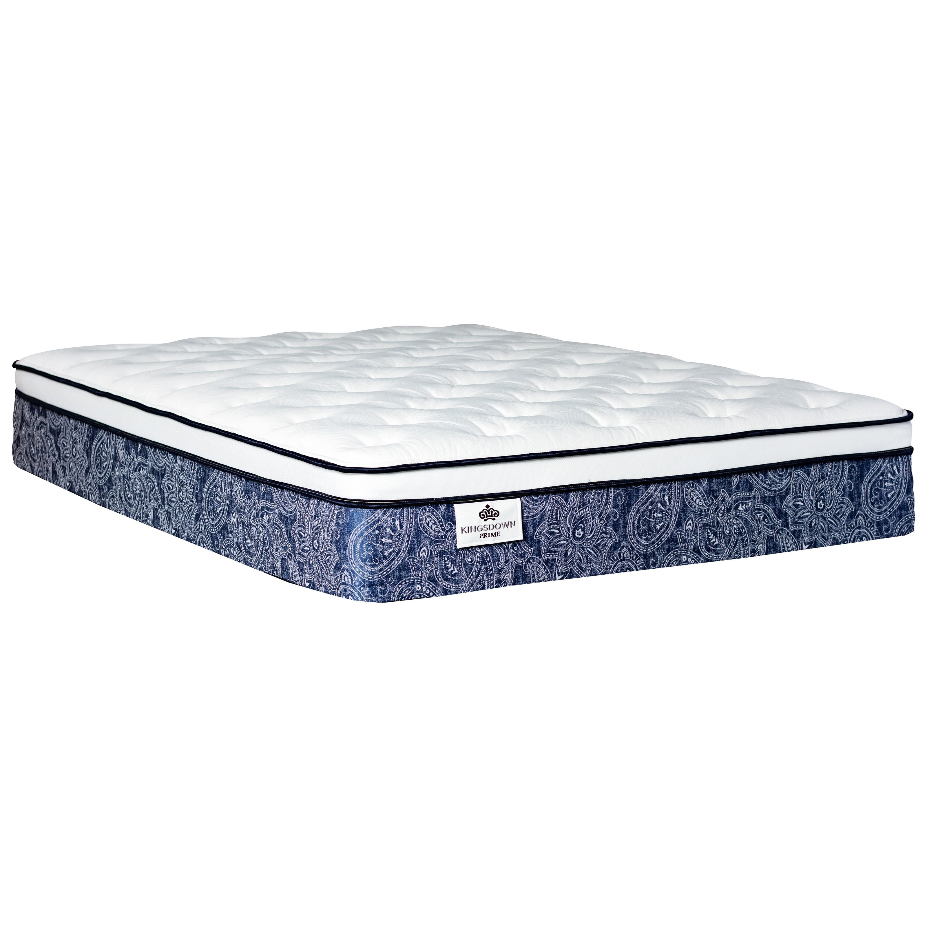 """Welliver ET Twin XL 13"""" Pocketed Coil Mattress by Kingsdown at Ruby Gordon Home"""